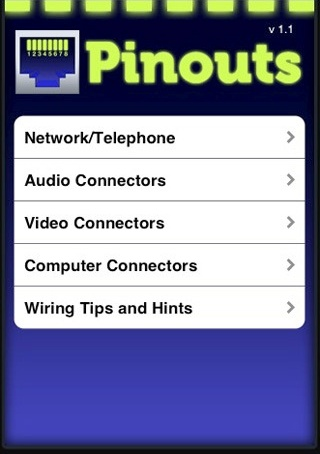 Iphone App Connector Pinouts Network Audio Video Computer ... on